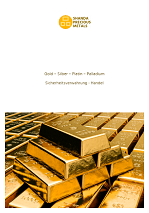 Gold, Silber, Platinum, Palladium Sicherheitsverwahrung und Handel