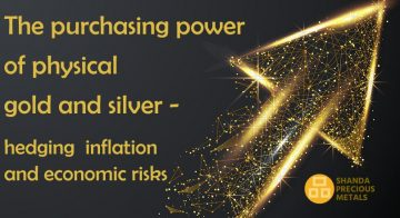 The purchasing power of physical gold and silver