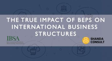 The True Impact of BEPS on International Business Structures