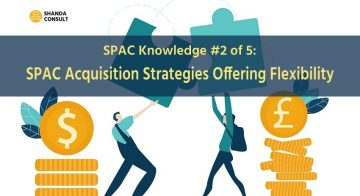 SPAC Acquisition Strategies Offering Flexibility