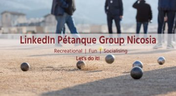 New LinkedIn Pétanque Group Nicosia