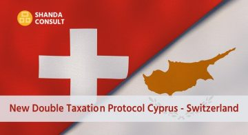 New Double Taxation protocol Cyprus – Switzerland