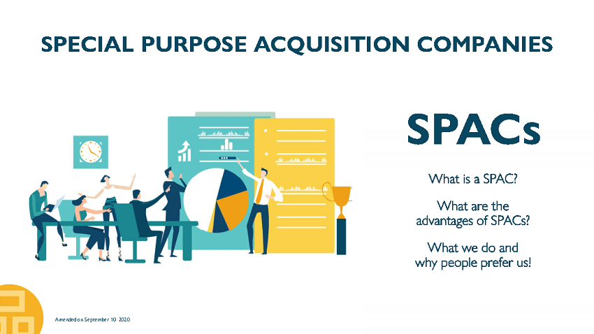 Presentation: What are SPACs? SPAC consulting